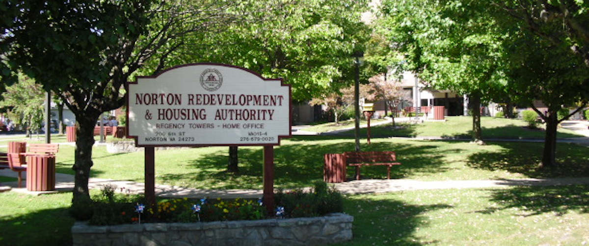 Picture of the Norton Redevelopment & Housing Authority Sign
